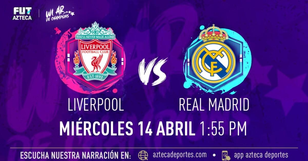 Liverpool vs. Real Madrid en vivo por TV Azteca Deportes
