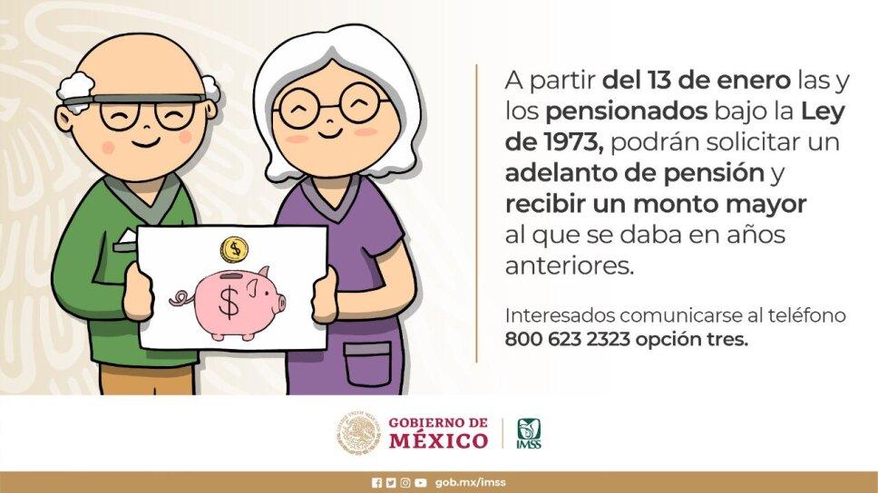 Incrementa IMSS de 30 a 90 días de UMA el importe máximo para préstamo a cuenta de pensión