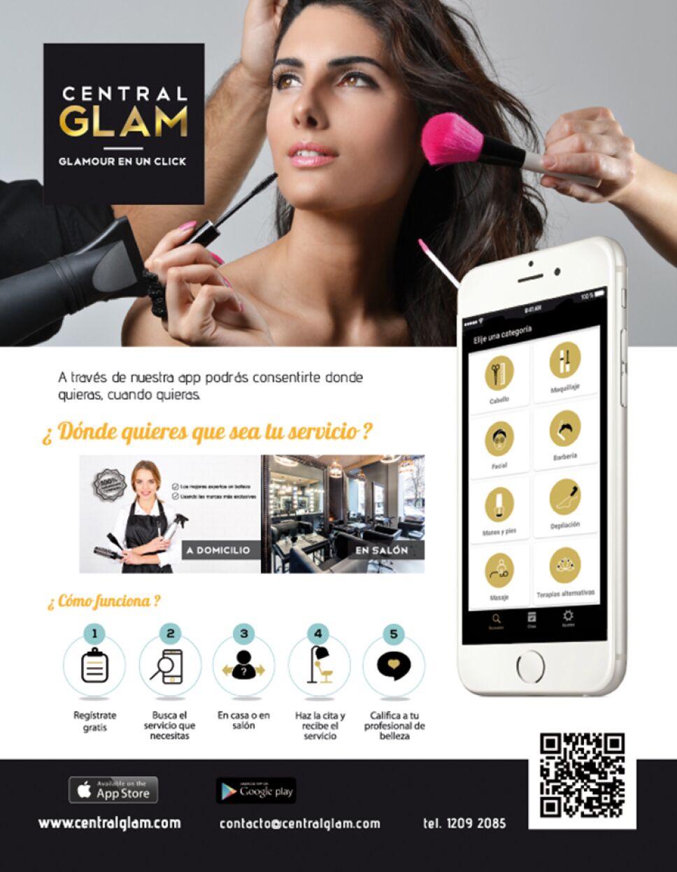 Aplicación Central Glam