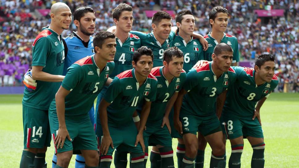El once de México en la final de Londres 2012