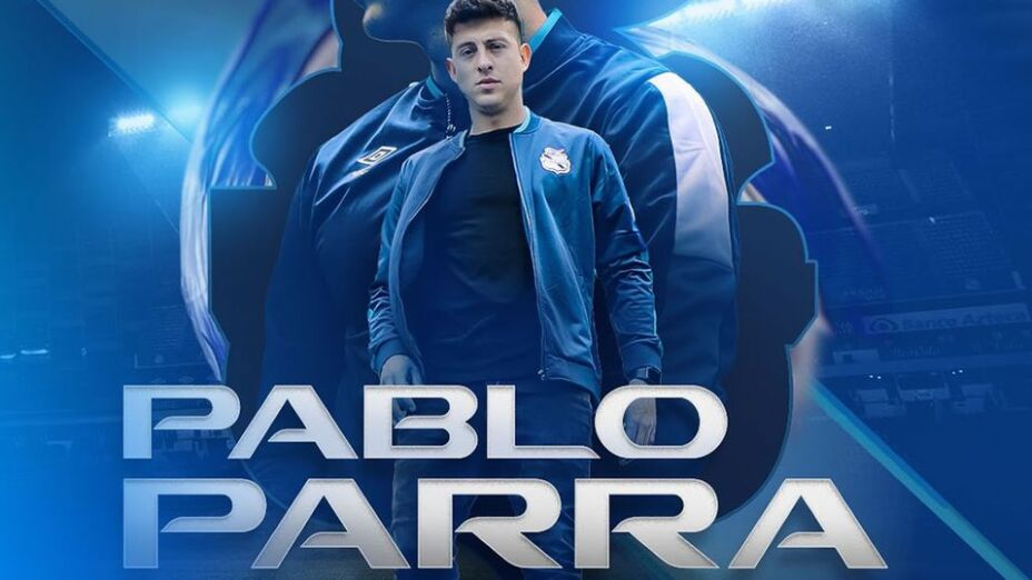 Pablo Parra llegó al Puebla