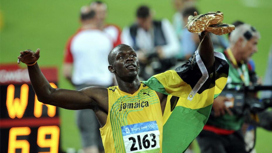 Atletismo: Récord olímpico 100 metros en Beijing 2008 de Usain Bolt