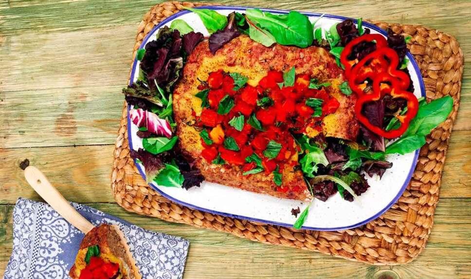 Receta Pan de carne relleno Cocineros Mexicanos