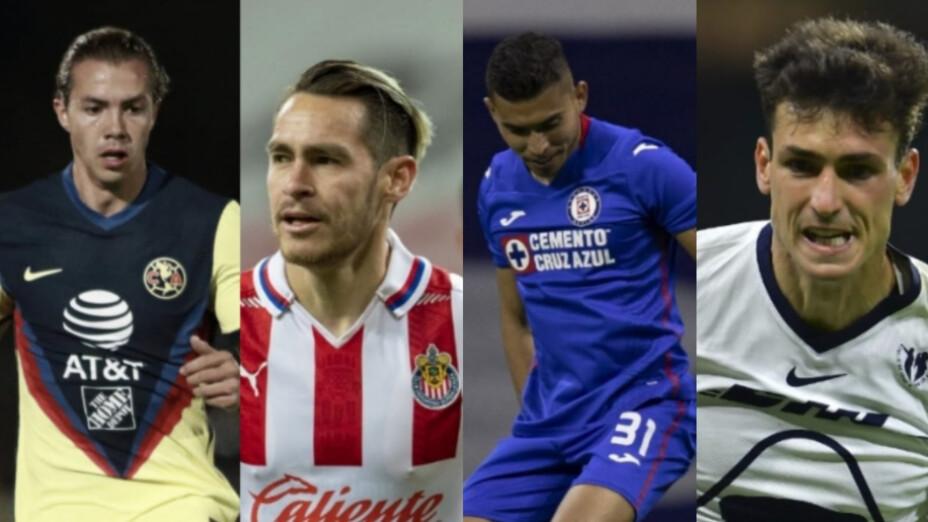 Los cuatro grandes de la liga MX a la liguilla