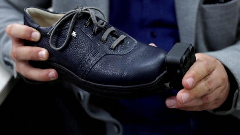 Disponibles en Austria: zapatos inteligentes para ayudar a invidentes.