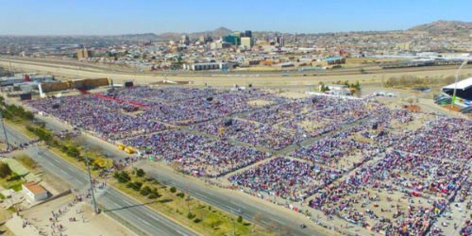Papa Francisco misa en Ciudad Juárez 1