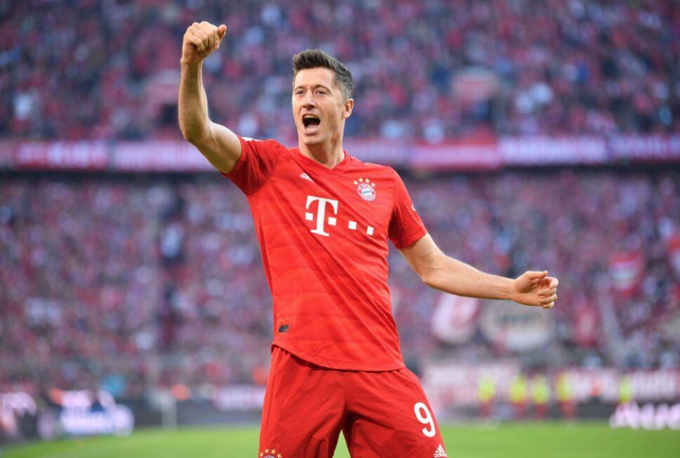 Robert Lewandowski es el líder de goleo de la Bundesliga