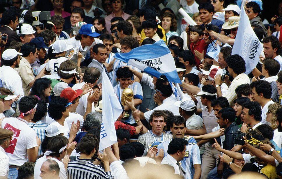 Mardona consiguió el segundo título mundial para Argentina