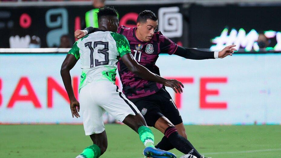 Rogelio Funes Mori ante Nigeria