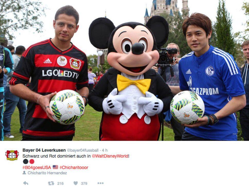 Bayer Leverkusen Disney 2
