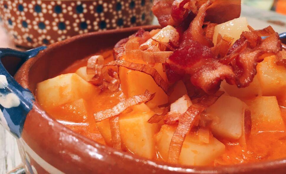sopa de papa cocineros mexicanos