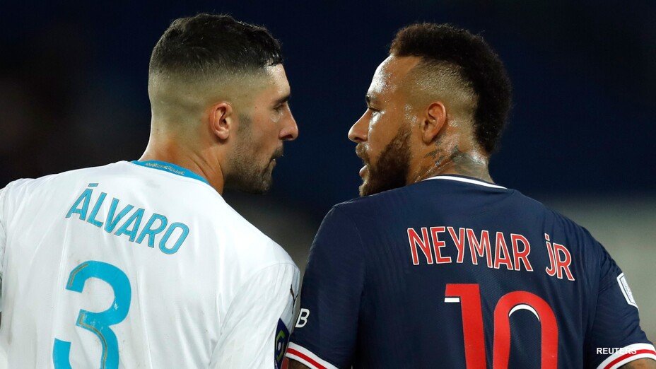 Neymar y Álvaro