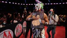 Rey Escorpión vs Psycho Clown lucha libre Triplemanía XXIX