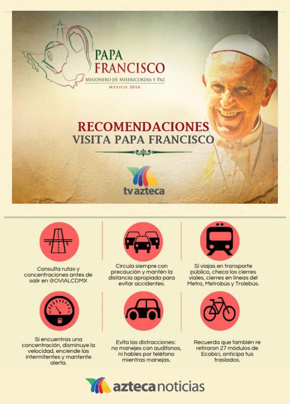recomendaciones papa