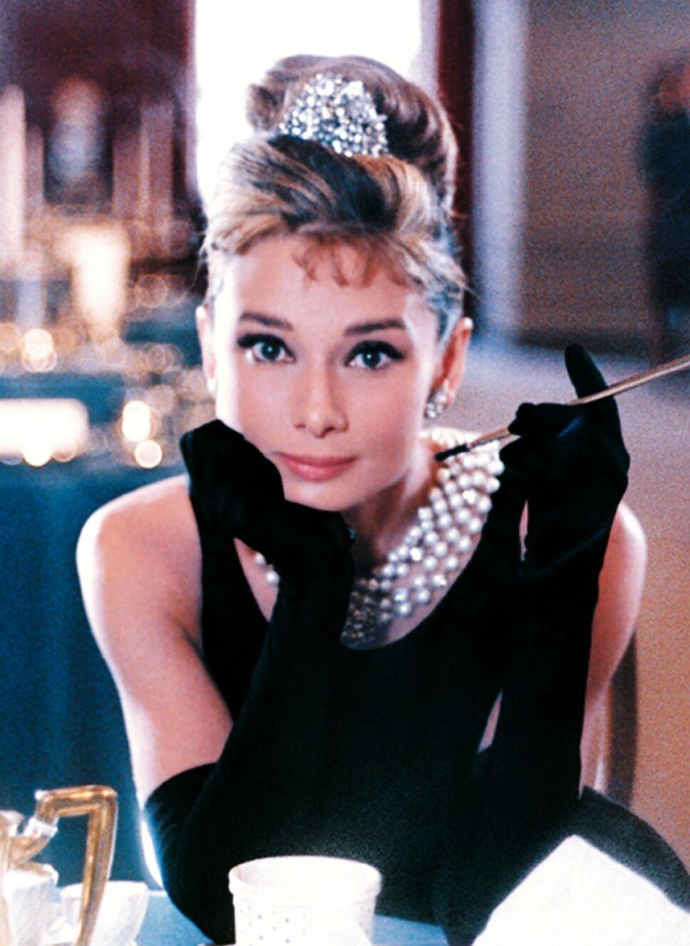 Audrey Hepburn en Breakfast at Tiffanys