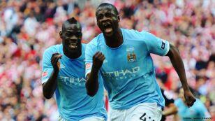Yaya Touré con Manchester City