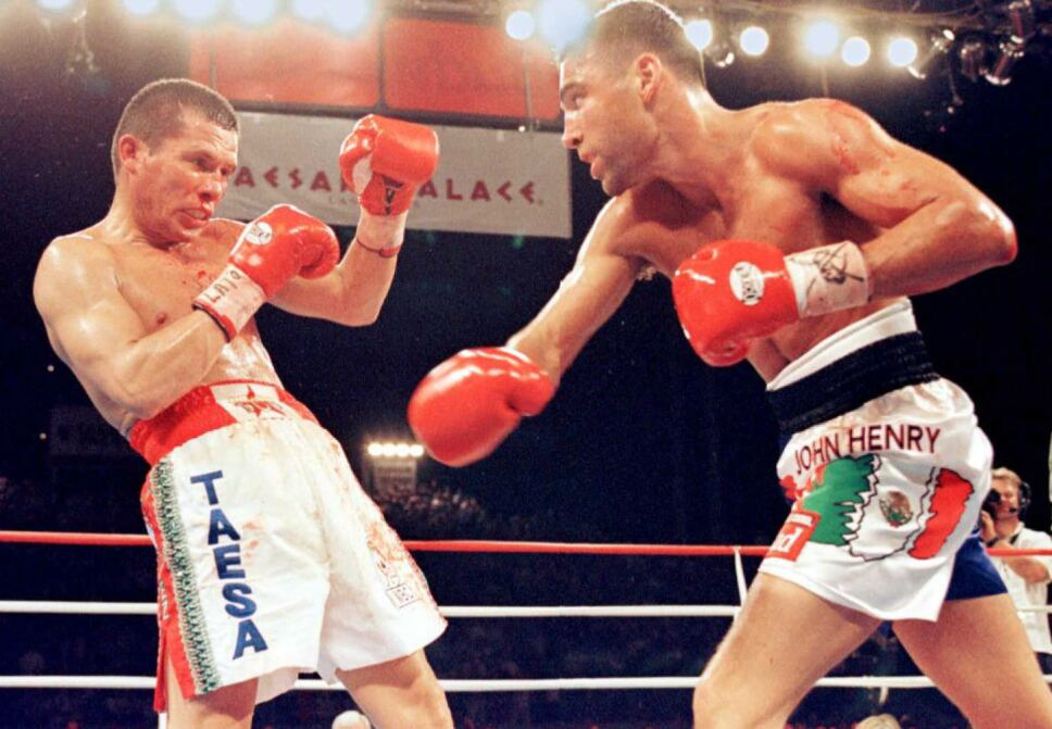Julio Cesar ChavezChavez vs Oscar de la Hoya