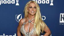 Britney Spears llega a la 29a entrega de los Premios GLAAD en Beverly Hills, California. Imagen, AP.