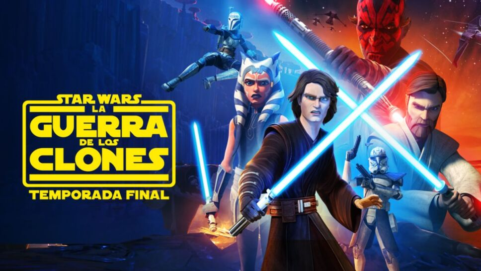 Series de Star Wars en Disney Plus guerra clones.jpeg