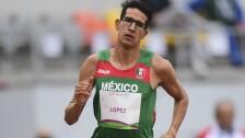 Tonatiu López, atleta mexicano