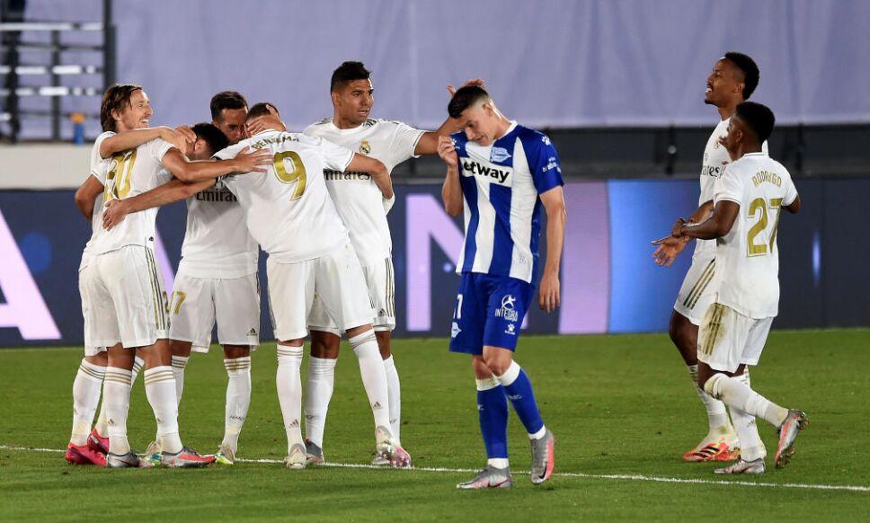 ¡El Real Madrid está a un paso de ser campeón!
