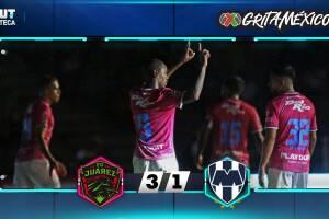 F.C. Juárez 3-1 Rayados