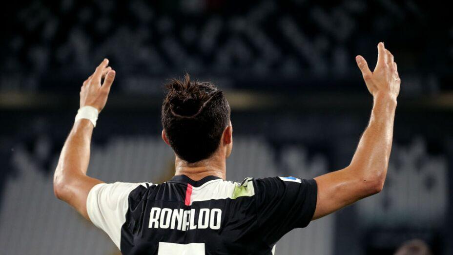 Cristiano Ronaldo anotó en la victoria de la Juventus